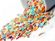 Sprinkles Stock Photography