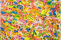 Sprinkles as a background Stock Photography