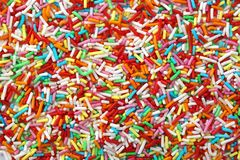 Sprinkles as a backgroung Stock Image