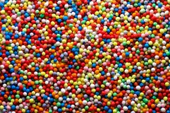 Sprinkles background Royalty Free Stock Images
