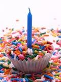 Sprinkles Cupcake Stock Image