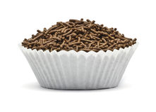 Sprinkles in a cupcake form Stock Photography