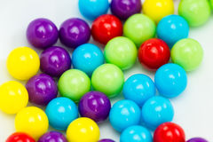 Sprinkles of different colors Stock Photography