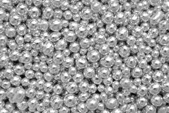Sprinkles silver balls Royalty Free Stock Image