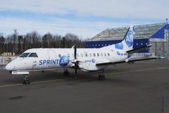 Sprint air. Cargo polish company Royalty Free Stock Photos