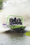 Sprint boat competitor on short course. Stock Images