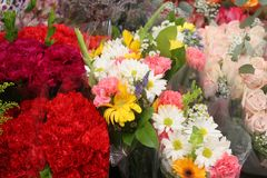 Sprint Bouquets Stock Image