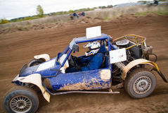 Sprint car Stock Photo