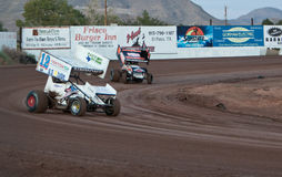 Sprint Car Racing Stock Photography