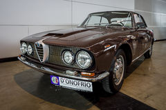 Sprint exécutif Tipo 106, 1962 d'Alfa Romeo 2600 de voiture Photographie stock libre de droits