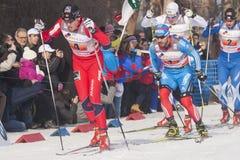 Sprint finale Fotografie Stock