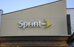 SPRINT INTERNET PROVIDER Stock Photography