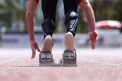 Sprint start Royalty Free Stock Photo