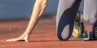 Sprint start Stock Images