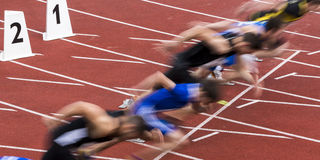Sprint start Royalty Free Stock Photo