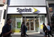 SPRINT WIRELESS Royalty Free Stock Images