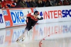 Sprinta i hastighet som åker skridskor - Katerina Erbanova Royaltyfria Bilder