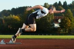 Sprinten Sie Anfang Lizenzfreie Stockfotografie