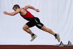 Sprinten Sie Anfang Lizenzfreies Stockfoto