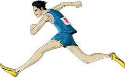 Sprinter Immagini Stock