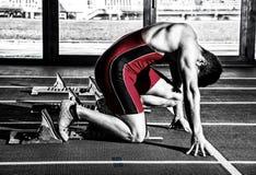 Sprinter man Stock Photography