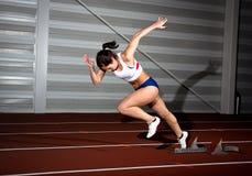 Sprinter woman Stock Photos