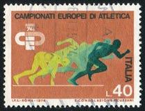 sprinters Foto de Stock Royalty Free
