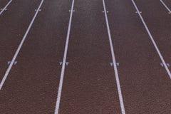 Sprinting линии следа Стоковые Фото