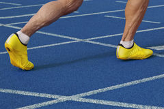 Sprinting start Royalty Free Stock Images
