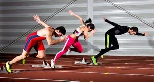 Sprintstart Lizenzfreie Stockfotografie