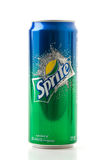 Sprite cans on white royalty free stock image