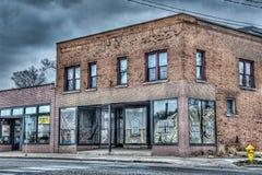 Spritfabrik i Grand Rapids royaltyfri foto