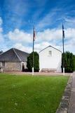 SpritfabrikOuthouses, Aberdeen, Skottland Royaltyfri Fotografi