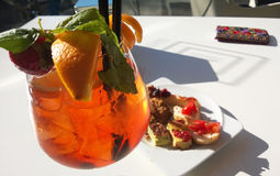 Spritz aperitif Royalty Free Stock Images