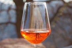 Spritz, cóctel italiano tradicional Foto de archivo libre de regalías
