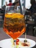 Spritz Cocktail stockfotografie