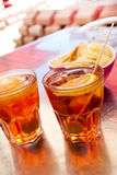 Spritz cocktail Royalty Free Stock Image