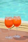 Spritz cocktail Stock Image