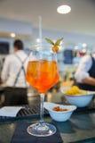 Spritz famous italian drink Stock Photos