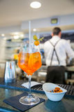 Spritz famous italian drink Royalty Free Stock Images