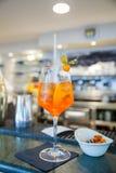 Spritz famous italian drink Stock Image