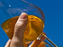 Spritz: italian drink. Spritz is the typical italian pre-dinner drink stock photography