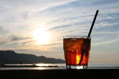 Spritz o cocktail Imagem de Stock