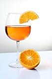 Spritz and orange Royalty Free Stock Photo