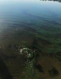Spritzen auf dem Wasser Lizenzfreie Stockfotografie