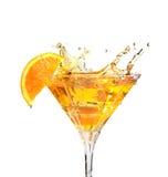 Spritzen des Cocktails Lizenzfreie Stockfotografie