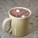 Spritzen des Kakaos Stockbild