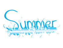 Spritzen des Sommers Lizenzfreie Stockfotografie
