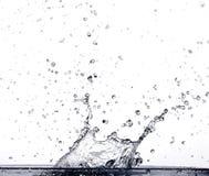 Spritzen des Wassers Lizenzfreie Stockbilder