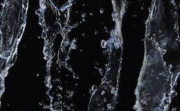 Spritzen des Wassers Stockbild